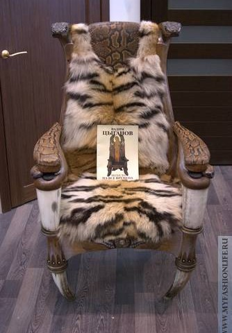 Дизайнерское кресло для стильного отдыха