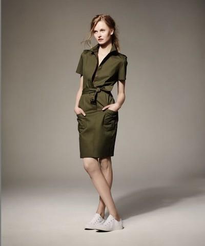 Грация крокодилов —  новая женская коллекция одежды от Lacoste