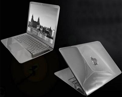 MacBook дизайнера-ювелира Стюарта Хьюза
