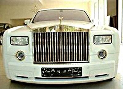 Rolls-Royce инкрустированный от ювелира Стюарта Хьюза