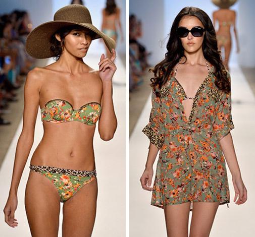 коллекция купальников и пляжной одежды 2014