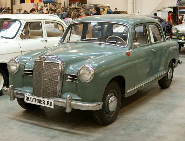 Мерседес – антикварная мечта автомобилиста Mercedes-Benz 180
