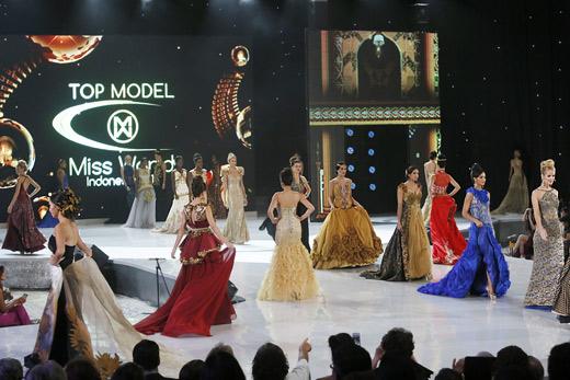 шоу Топ Модель в рамках конкурса Мисс Мира 2013
