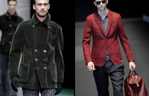 мужская парка и пиджак осень-зима 2013-2014