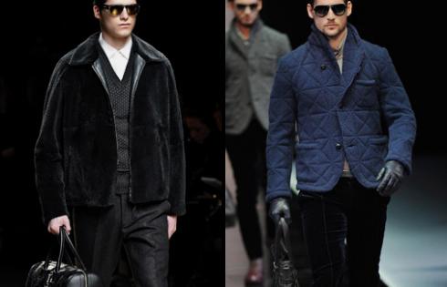 укороченное мужское пальто