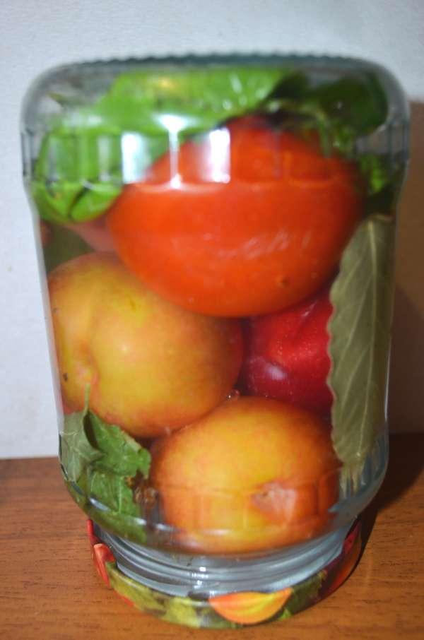 помидоры со сливами