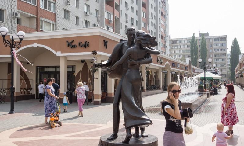 Аллея Роз — город Энгельс Саратовская область