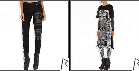 коллекция женской одежды Рианны для River Island