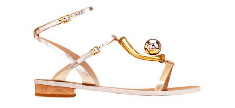 эксклюзивная модель сандалии Chloe