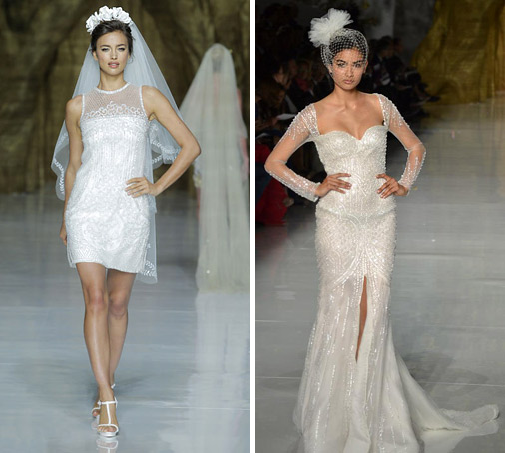 кружевные свадебные платья 2014