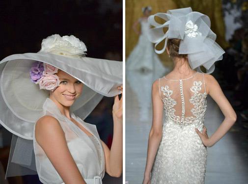 свадебные аксессуары головные уборы 2014