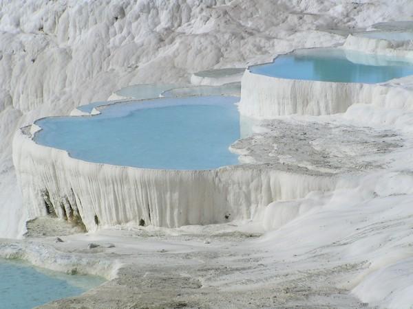 Геотермальные источники Турции — Памуккале