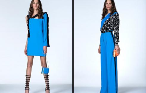 платье и брюки от Ungaro 2013