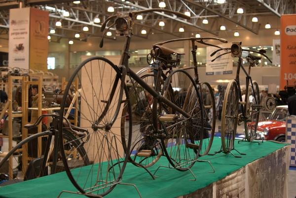 Старинные велосипеды — минимум изменений за 200 лет