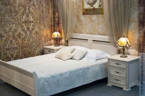 Винтажная спальня – особый стиль отдыха