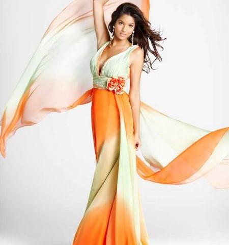 Выпускное платье 2012 — модные тенденции