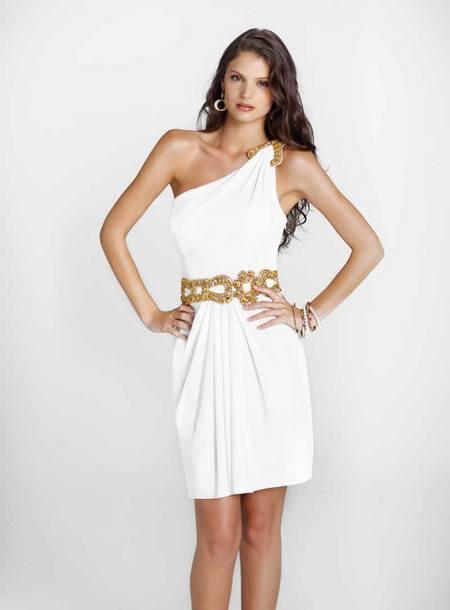 выпускное платье белое