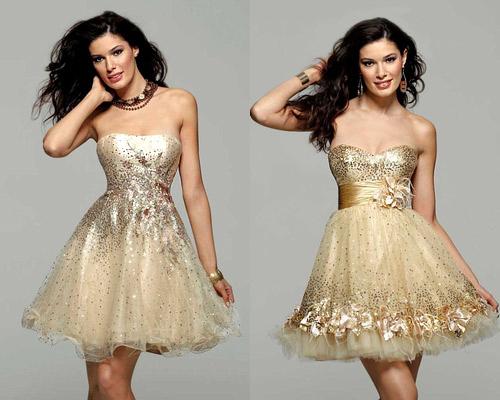 Выпускные платья 2013 года — шик, гламур и готика