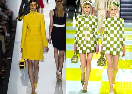 модели Michael Kors и Louis Vuitton лето 2013